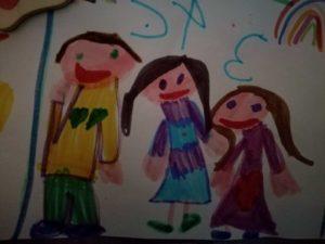 sostegno genitorialità disegno bambini